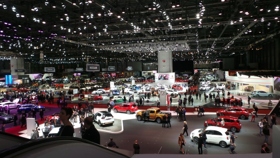 A view of Geneva Motor Show (GMS) 2016