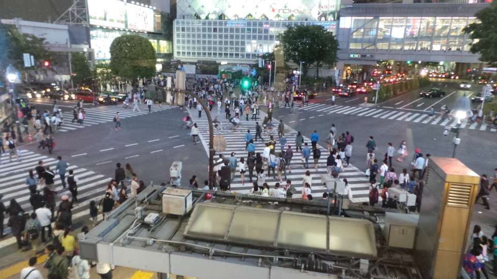 Shibuya Japan Tokyo crossing