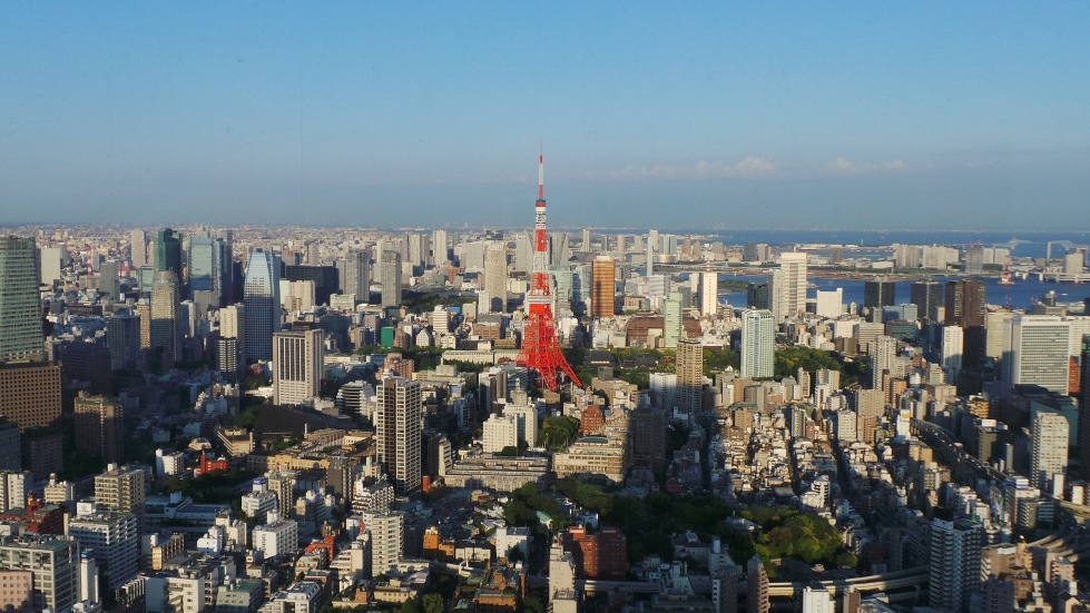 View of Tokyo from Roppongi Hills