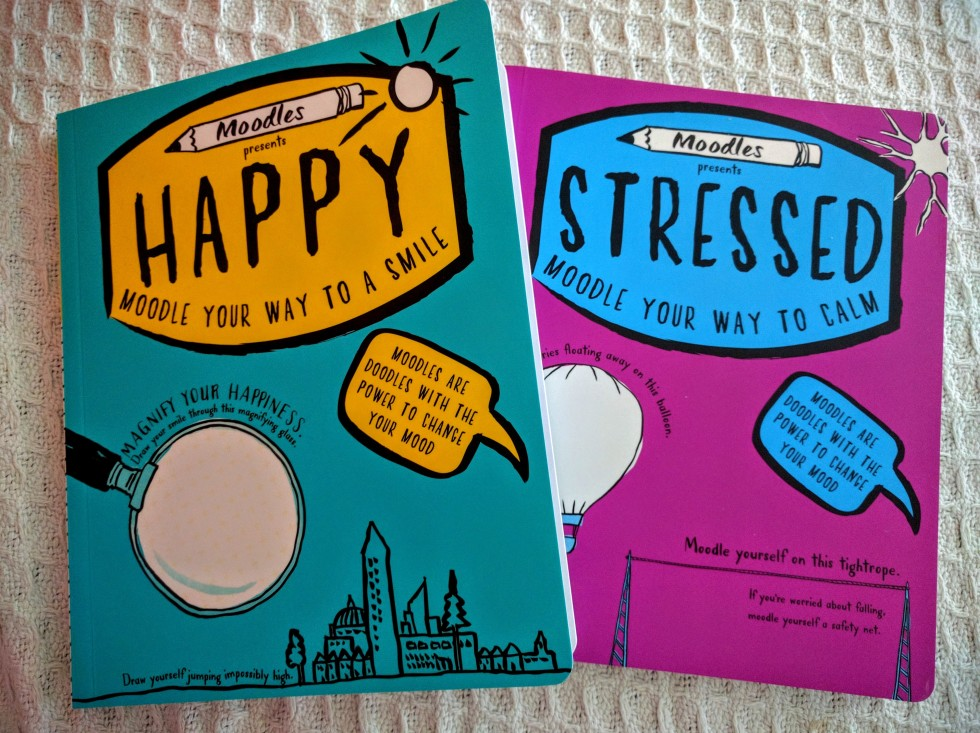 Happy and Stressed Moodles books