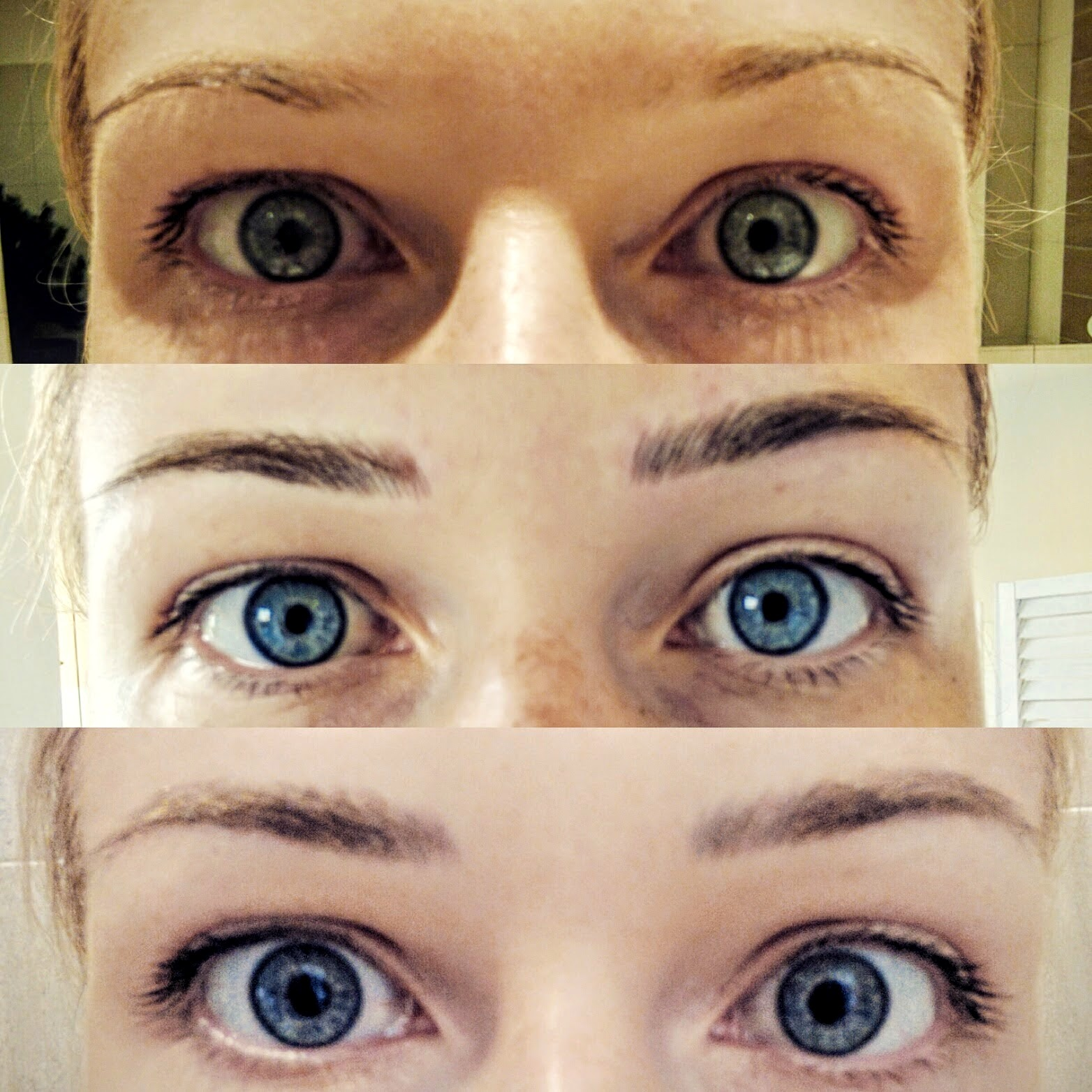 Micro Blading before and after