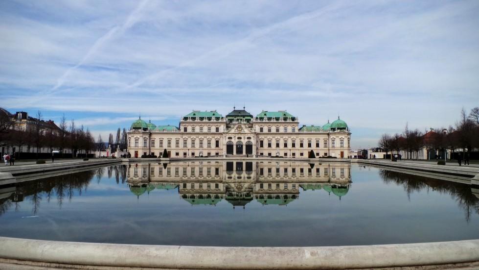 Belvedere Palace Schloss Vienna Austria