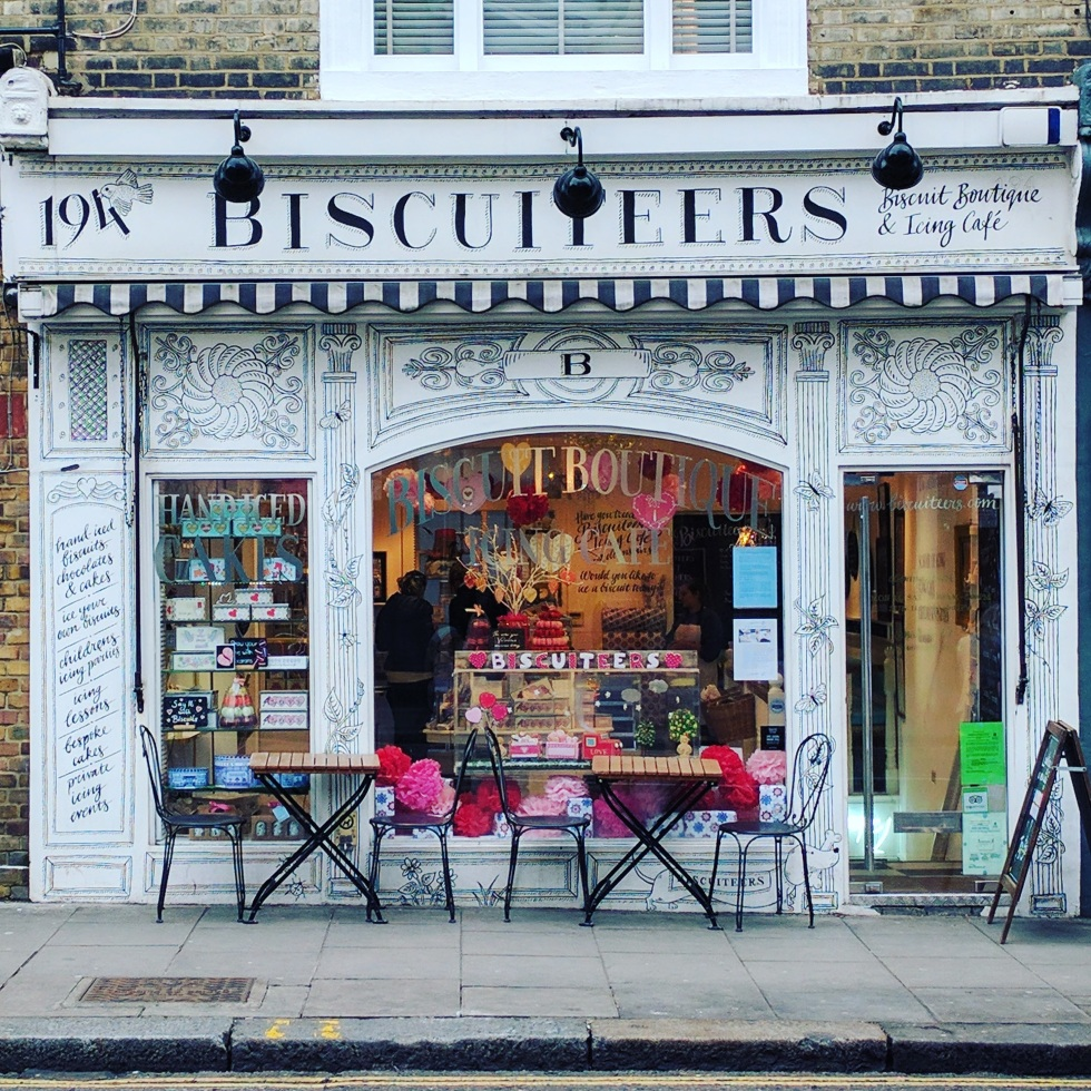 Biscuiteers Cafe in Notting Hill, London