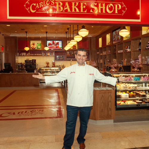 meet buddy, the cake boss
