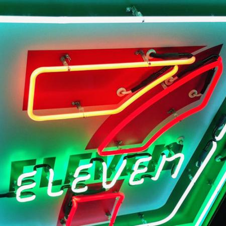 7 Eleven Neon Sign